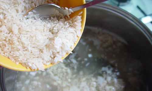 Отвар из риса при диарее