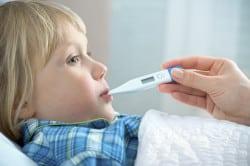 Высокая температура - симптом воспаления матки