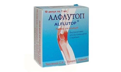 Алфлутоп показан при дегенеративных и дистрофических поражениях суставов: остеоартрозе, спондилезе, гонартрозе, коксартрозе