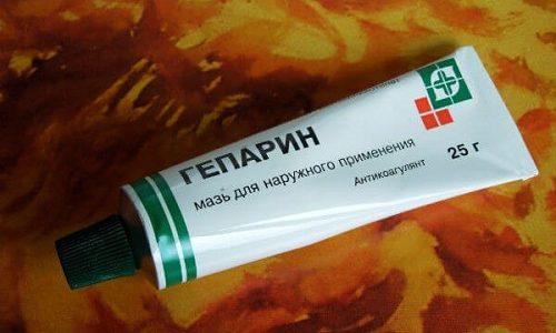 Гепариновая мазь обладает противовоспалительным эффектом