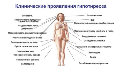 Женщины могут наблюдать у себя обильные и продолжительные менструации или, наоборот, их полное отсутствие