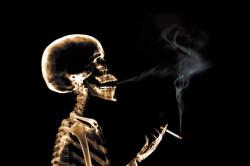 Курение - причина ларингита