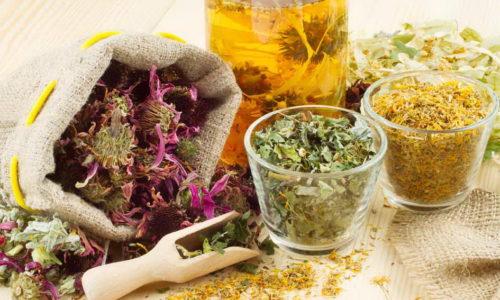 Если врач одобрил применение фитотерапии в качестве дополнения к общему лечению, при изготовлении настоев необходимо пользоваться проверенными рецептами и добавлять травы в необходимых количествах