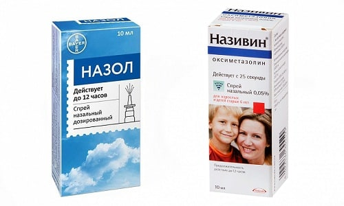 Рационально и безопасно применять Назол или Називин при восстановлении свободного носового дыхания