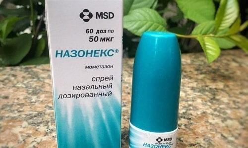 Назонекс нельзя применять для лечения при глаукоме или подозрении на нее