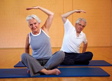 Упражнения и гимнастика при остеопорозе