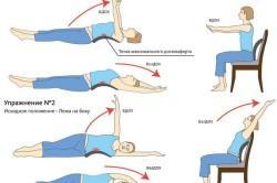 Лечебная гимнастика при боли в пояснице